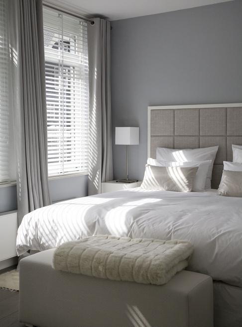 Raamdecoratie & kleuren voor in master bedroom