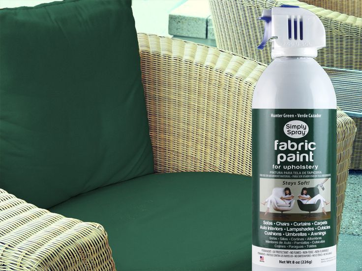 Fabric Spray Paint On Patio Cushions Diy Home Projects