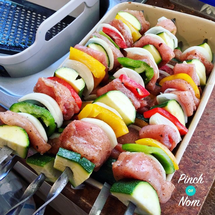 Syn Free Monster Salt and Pepper Kebabs | Slimming World