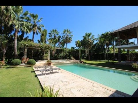 89 best Beachfront Properties images on Pinterest Dominican - villa mit garten und pool