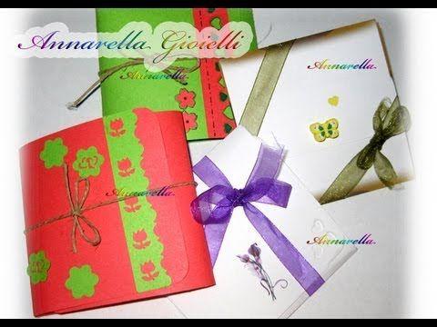 ▶ Tutorial | Confezioni regalo per orecchini | gift boxes for earrings - YouTube