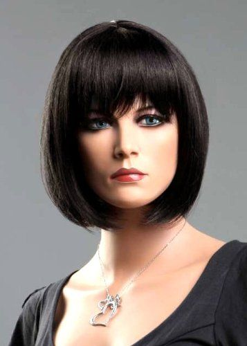 Forever Young Short Dark Brown Number 30T4 Ladies Classy Bob Style Wig