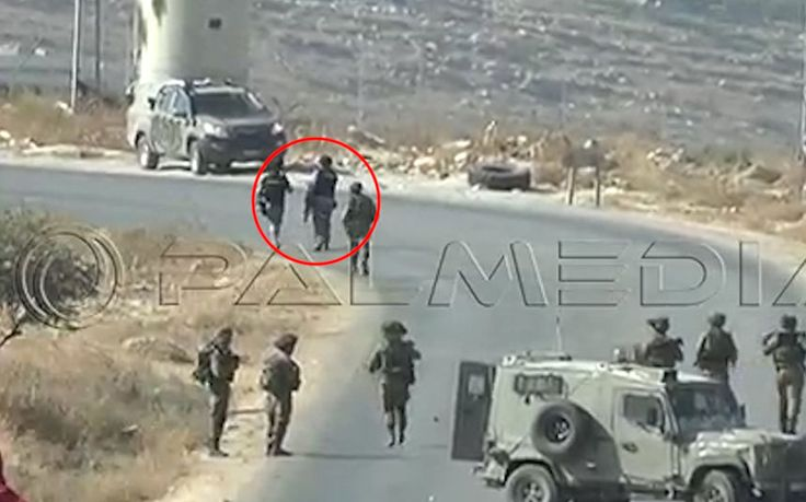 Footage shows troops apparently smashing equipment of reporters covering West   Bank clashes