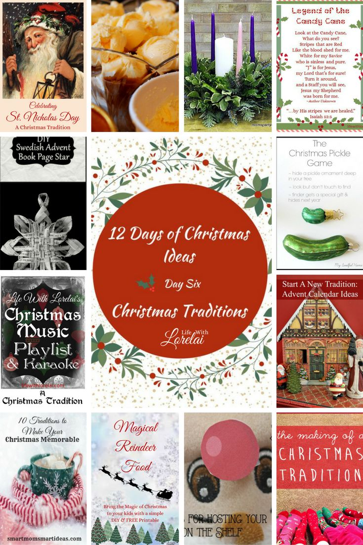 Christmas Party Ideas For Family And Friends Part - 47: Christmas Traditions - 12 Days Of Christmas - Day 6