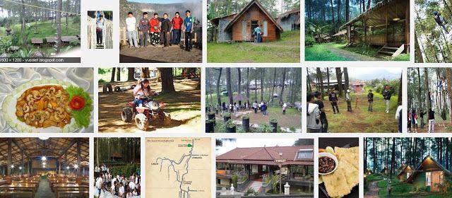 Tempat wisata di bandung lembang di kaki gunung dengan fasilitas game outbound, pondok wisata, saung lesehan, kebun strawberry dan tempat camping  www.grafikacikole.com