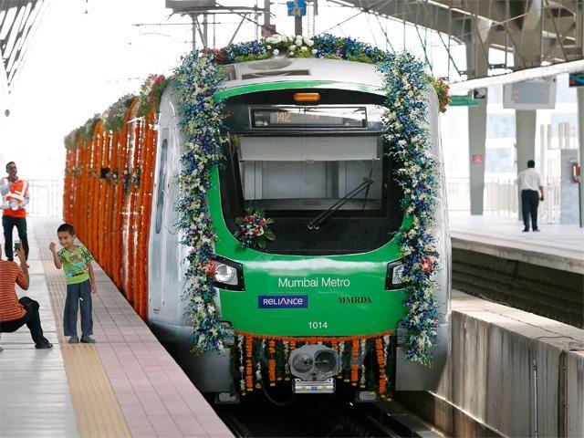 Slideshow : Mumbai Metro rolls out: 11 interesting facts - Mumbai Metro rolls out: 11 interesting facts - The Economic Times