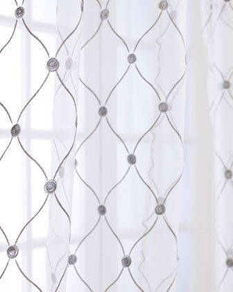 """""""Manchester"""" Sheer Curtains by Softline Home Fashions at Horchow."""
