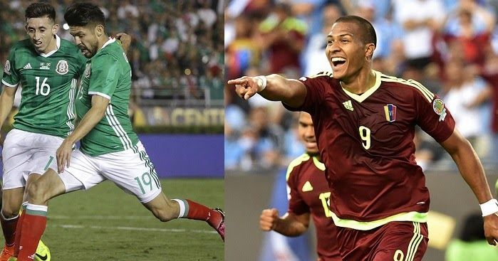 Mexico vs Venezuela en vivo Copa America Centenario | Futbol en vivo - Mexico vs Venezuela en vivo Copa America Centenario. Canales que pasan Mexico vs Venezuela en vivo y en directo enlaces para ver online el partido.