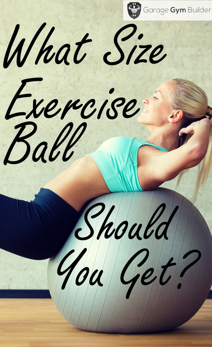An #exercise #ball is one of the best single pieces of exercise equipment you can buy for your home #gym. It terms of cost, strength training, stretching, balance and core focused training it can't be beat. Unless, you get the proper fitness ball size, however, much of your balance ball benefits will be lost. In this article, we show you how to choose a stability ball size to suit your needs.