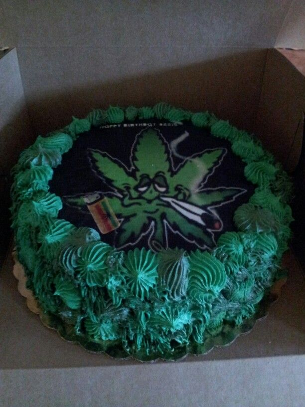 1000 Images About Delicious Weed Cakes On Pinterest