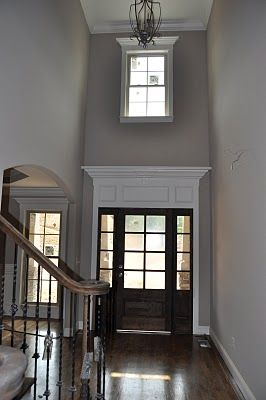 Audrey - look at the moulding around the door...this would be awesome in your entry and I know si me boys who can do it :-)