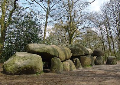 Hunebedden, Drente (prehistoric chamber tombs similar to dolmens)- this was near where we lived..Went there many times!