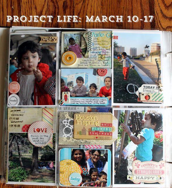 Project Life: Birthday week