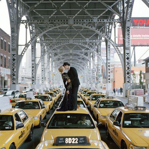 NYC Taxi Kiss