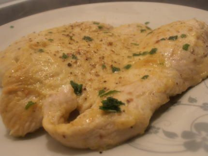 recette escalope de poulet au fromage blanc et curry (recette dukan)