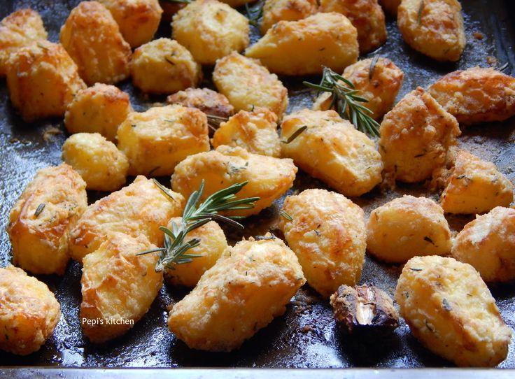 Pepi's kitchen: Πατάτες Φούρνου με Κρούστα