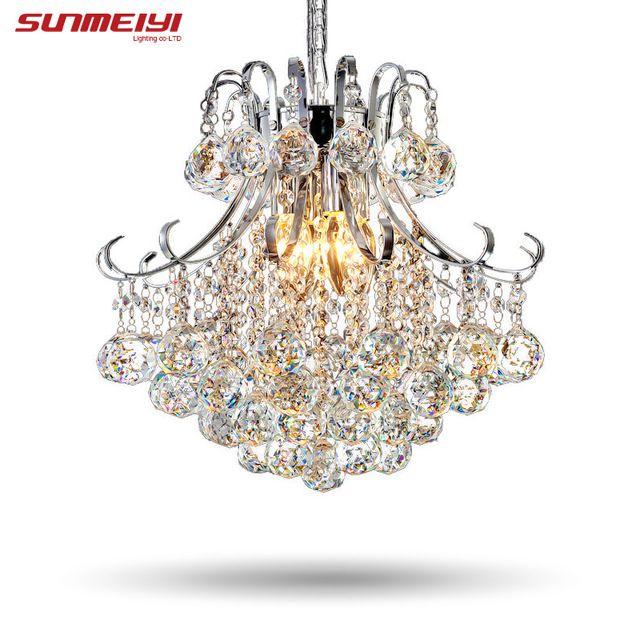 2016 Luxury Crystal Chandelier Living Room Lamp lustres de cristal indoor Lights Crystal Pendants For Chandeliers Free shipping