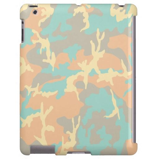 Blue/Ocra/Gray/Beige Camo Pattern - New camo pattern inspired by summer, sea and canyon colors. Enjoy from my store!