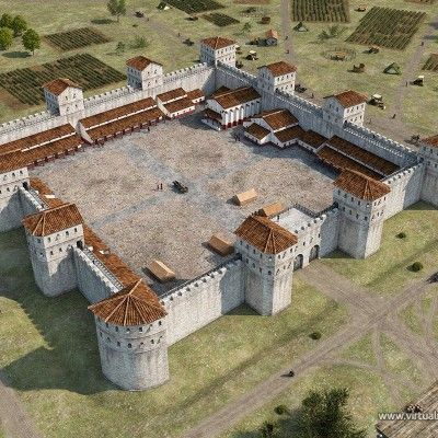 Update on the Contra Aquincum fort reconstruction | 2016 » Ádám Németh's virtual reconstructions