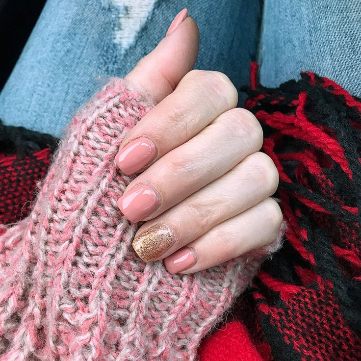 Rose Gold Manicure; Rose Gold Nail Color hayley | LIKEtoKNOW.it