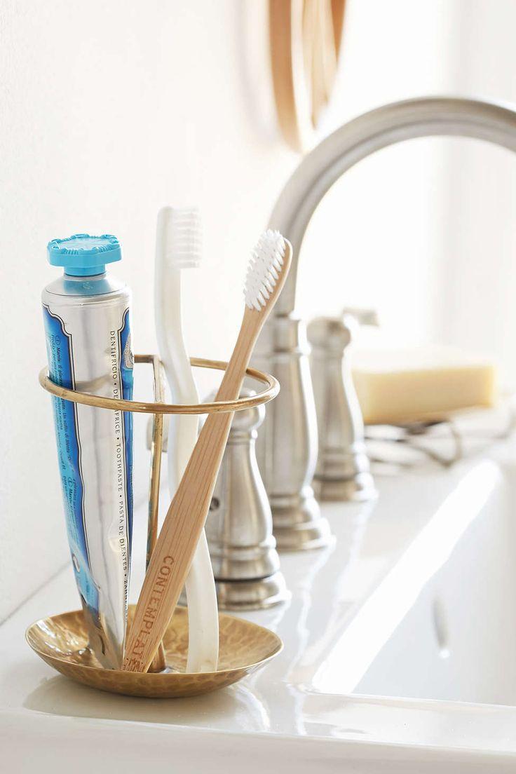 Magical Thinking Marcel Toothbrush Holder   Urban Outfitters. Toothbrush  StorageToothbrush HoldersBronze BathroomMagical ThinkingBathroom .