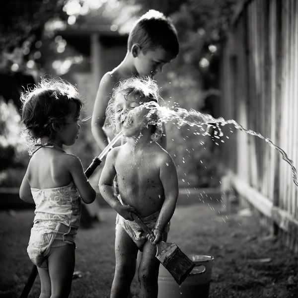 Run through the sprinkler when it was hot....drink out of the hose...and playing in the gutter after it rained!