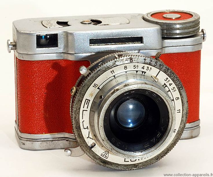 Collection Appareils is an impressive online archive of over 10,000 vintage cameras, each with pictures and information #vintage #cameras #old stuff