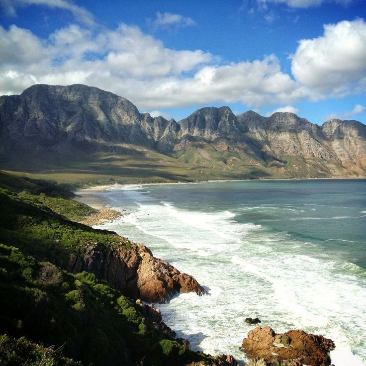 Koolbaai, South Africa.  If you're driving along the coast from Cape Town, you must stop here to get a picture!