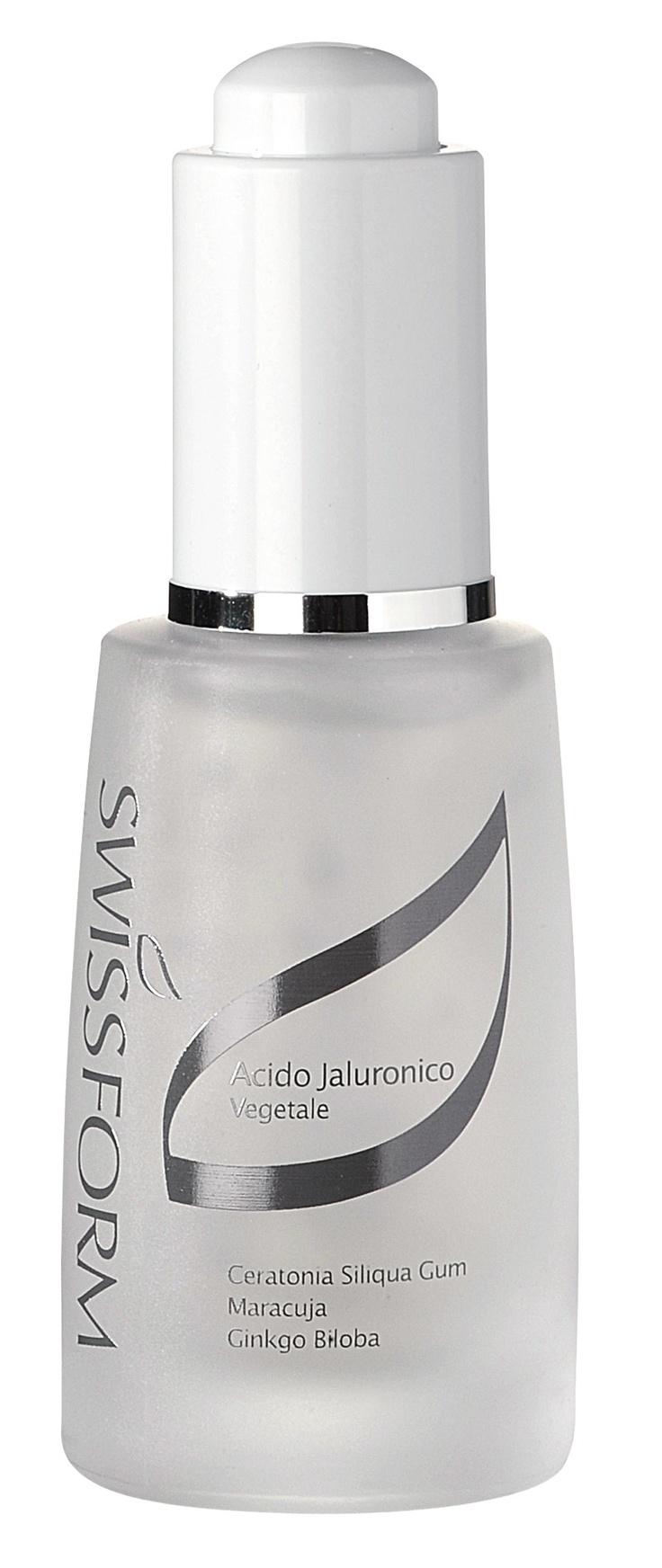 Acido Jaluronico: Il complemento ideale per la linea cosmetica del viso, per rimpolpare, idratare, creare una impalcatura molecolare per mantenere la forma ed il tono del tessuto del viso.