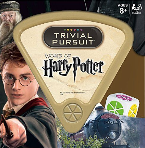 TRIVIAL PURSUIT board game: World of Harry Potter Edition is the perfect Christmas gift for families who love Harry Potter.