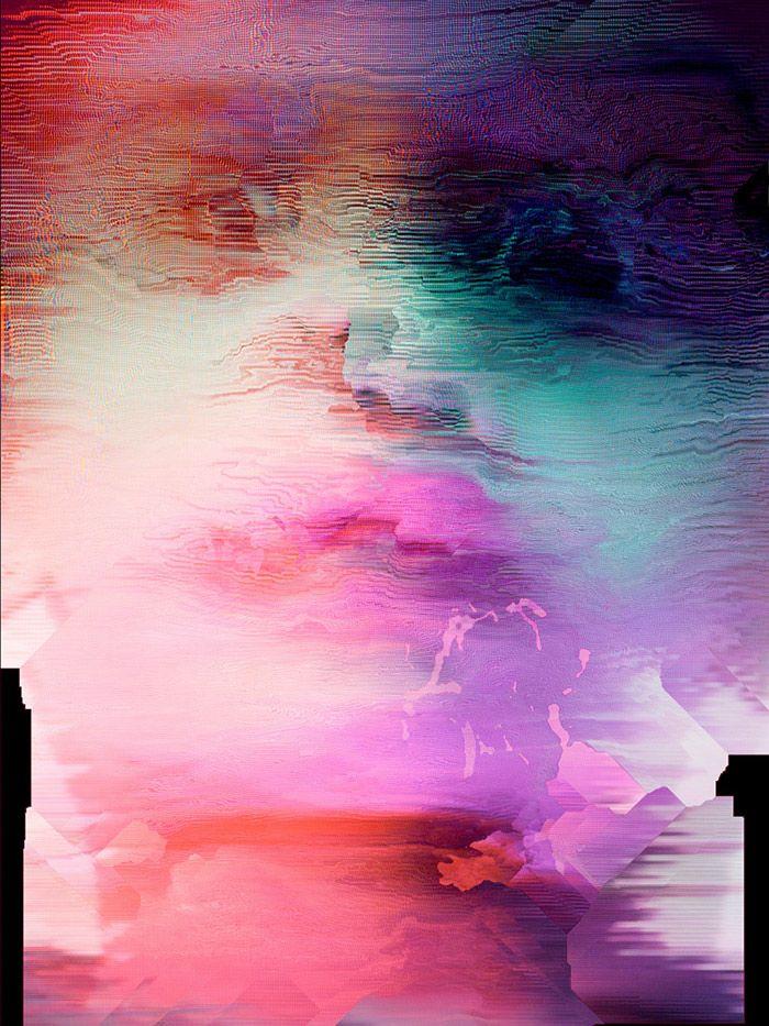Smashed Up Glitch Art   Laurent Segretier inspiration