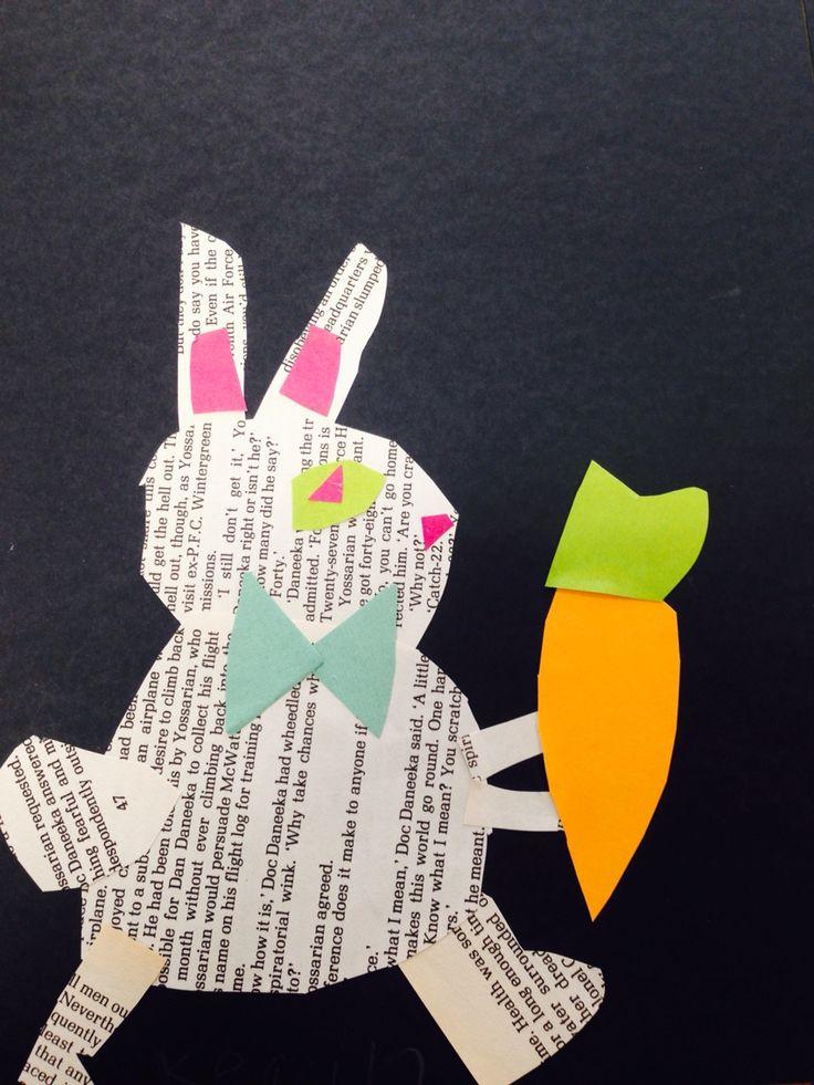 Grade 1/2 Alice in Wonderland Collage'