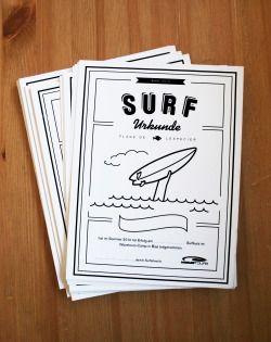 Surf Certificate, Bias, France – Sibylle Meyer haveasib.com