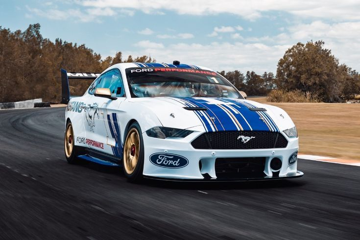 First Look At The 2019 Ford Mustang Supercar Ford Mustang Ford