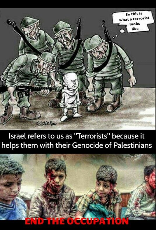 ***It also, helps to distract the world from the fact that by international law, Palestinians have a right to resist and fight occupation and a siege that keeps them in the largest open air prison.