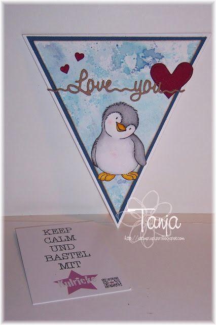 Kulricke Nesting Wimpel Stanzen, Kulricke Love you Stanze, Kulricke Nesting Hearts Stanzen, Kulricke Pinguin Felix Stempel