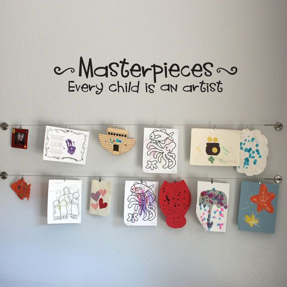 Masterpieces Wall Decal  Every Child is an by StephenEdwardGraphic