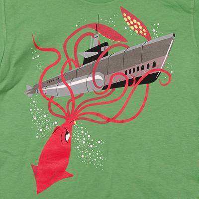 Squid Sub t-shirtSquidink, Tshirt, T Shirts, Cephalopod