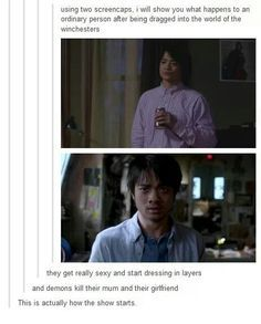 supernatural kevin tran - Google Search