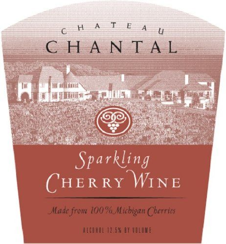 NV Chateau Chantal Michigan Sparkling Cherry Wine 750 mL >>> Visit the image link more details.