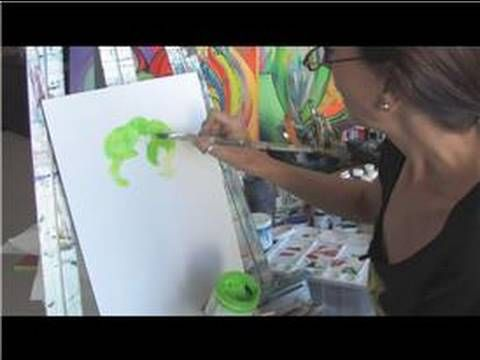 Acrylic Painting Tips : Acrylic Painting Techniques : How to Use Acrylic Paints - YouTube