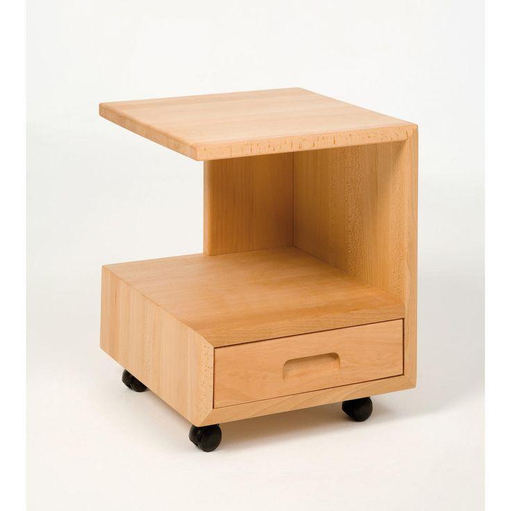 M s de 1000 ideas sobre camas de madera en pinterest - Mesas de noche modernas ...