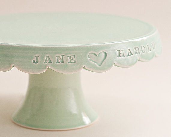 Custom wedding cake stand!