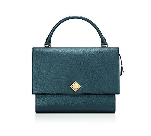 """New Trending Tote Bags: VERANIQUE ZSA Womens Shiny Amazon Green Italian Pebble Grain Calfskin Tote Flap Bag. VERANIQUE ZSA Women's Shiny Amazon Green Italian Pebble Grain Calfskin Tote Flap Bag  Special Offer: $376.00  488 Reviews A modern interpretation of the bold character, """"Verama""""tote bag features a confident silhouette ensures a cool city style for every day, whilst..."""