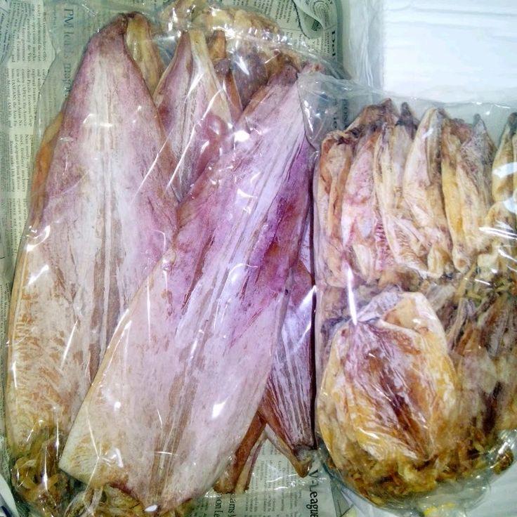 Mực lá khô Nha Trang loại 1, size 7-8 con / kg.