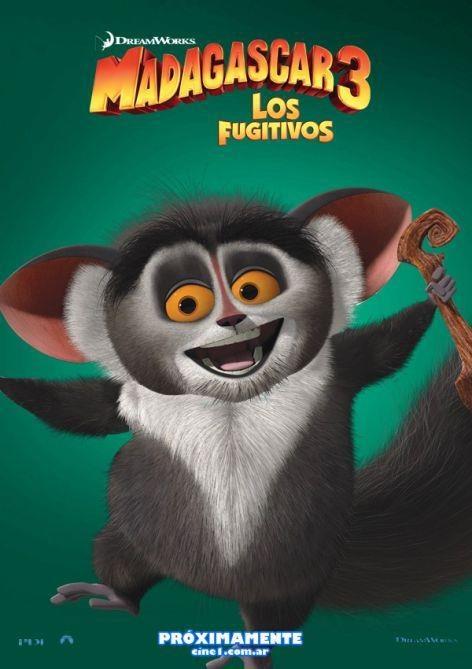 MadagascarMovie Posters, Picture-Black Posters, Madagascar, Animal