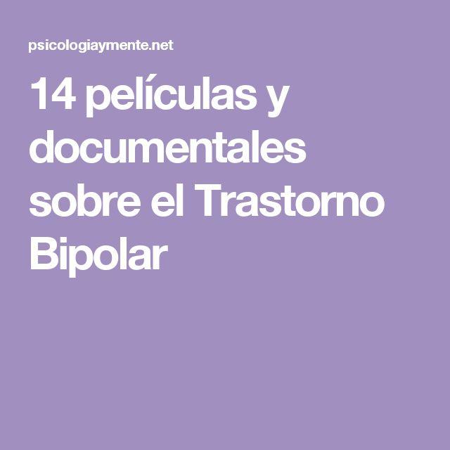 14 películas y documentales sobre el Trastorno Bipolar
