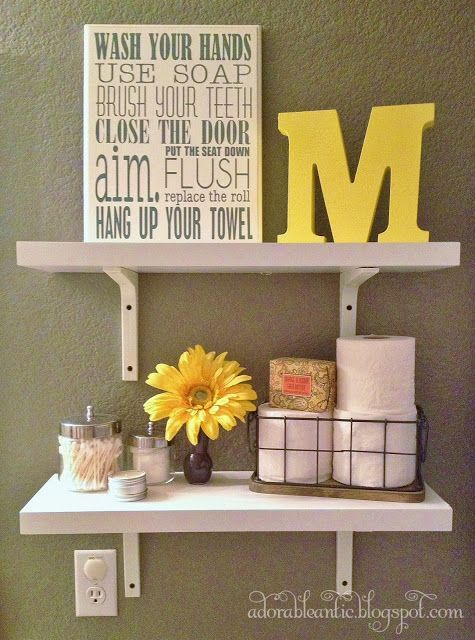 Best Yellow Bathroom Decor Ideas On Pinterest Diy Yellow - Pictures for bathrooms walls for bathroom decor ideas