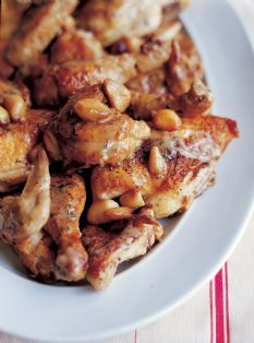 Barefoot Contessa - Recipes - Chicken with Forty Cloves of Garlic