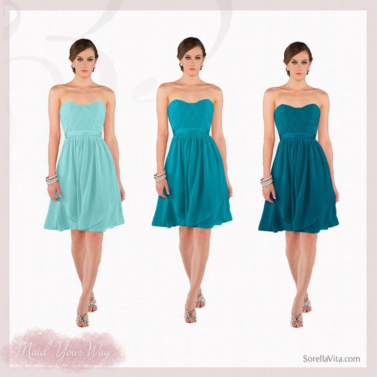 Trendy Best Teal bridesmaid dresses ideas on Pinterest Teal weddings Teal wedding dresses and Teal bridesmaids